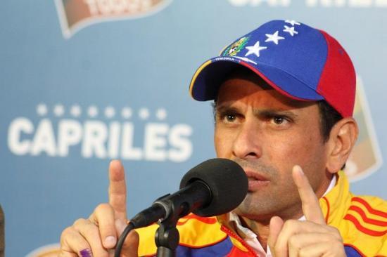 Odebrecht habría financiado a Capriles