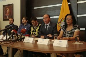 'Algunos de los involucrados gozan de fuero de Corte Nacional de Justicia', dice el fiscal Baca