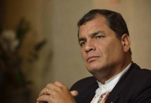 Expresidente Correa se pronuncia sobre caso Odebrecht