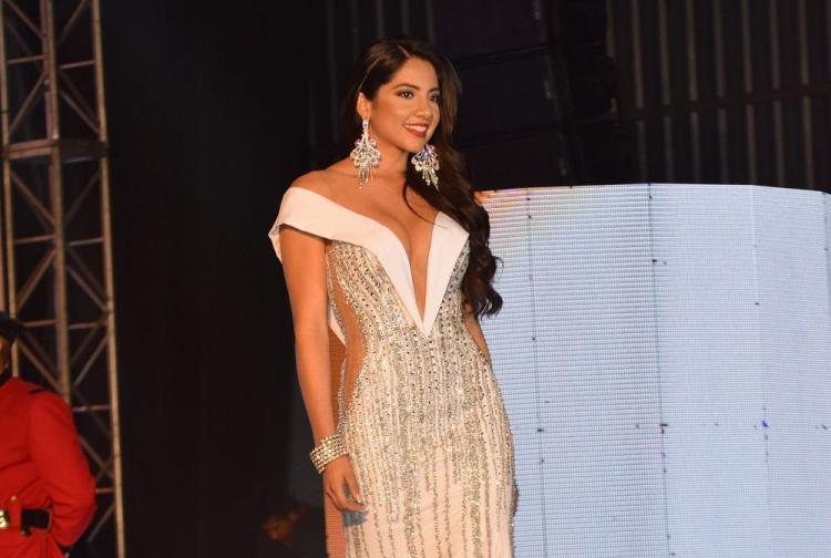 Lucía Luzuriaga, reina de Santo Domingo de los Colorados 2017