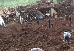 Un alud deja 11 personas fallecidas en Guatemala