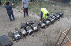 Portoviejo: Decomisan droga encaletada en un tanquero