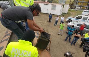 Cuatro detenidos con un 'narcotanquero' en Portoviejo