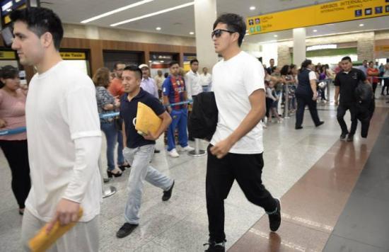 Un grupo de ecuatorianos deportados de Estados Unidos llega al país