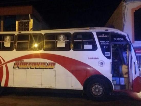Adolescente cae con bus robado