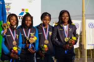 Ecuador consigue oro y bronce este sábado en el Campeonato Sudamericano de Atletismo