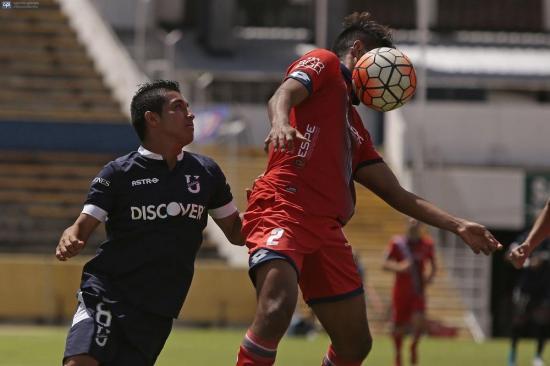 Católica y El Nacional se reparten los puntos en el Atahualpa