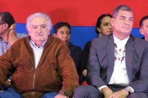Mujica y Correa reflexionan en Montevideo sobre la actualidad de la izquierda