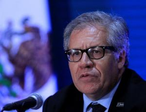 Almagro ofrece su cargo en la OEA 'a cambio de la libertad de Venezuela'