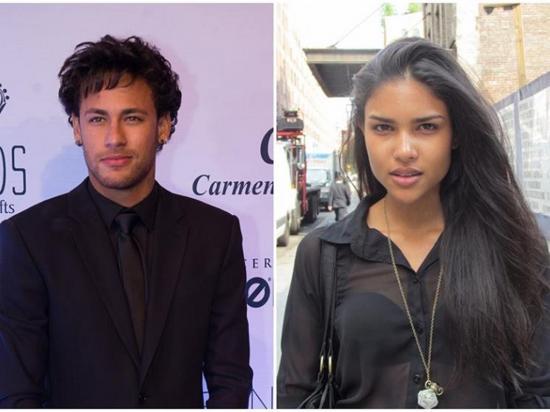 ¿La modelo Caroline  Caputo es la nueva  conquista de Neymar?