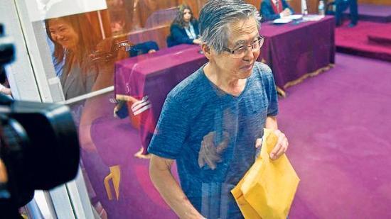 Posible indulto a Fujimori sigue con reacciones