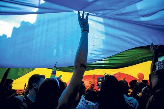 Ser homosexual es delito en 72 países