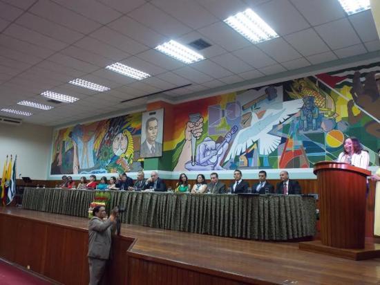 Universidad Técnica celebró 63 años de inicio de sus actividades académicas