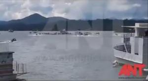 Sube a nueve número de muertos y a 28 desaparecidos por naufragio en Colombia