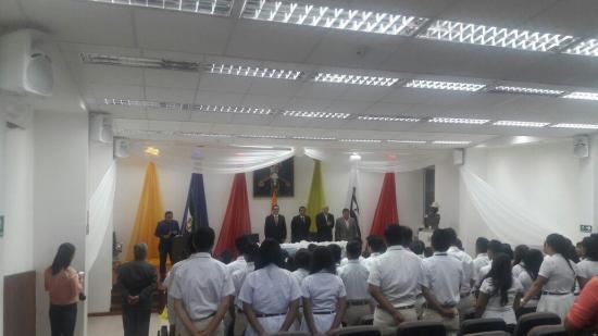 Con sesión solemne se conmemoró 193 años de cantonización de Montecristi