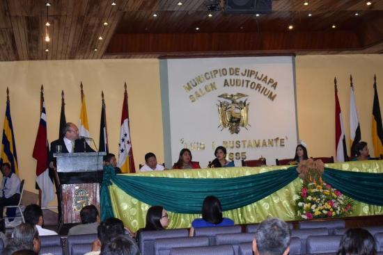 Jipijapa celebra su cantonización con un pedido específico: agua potable