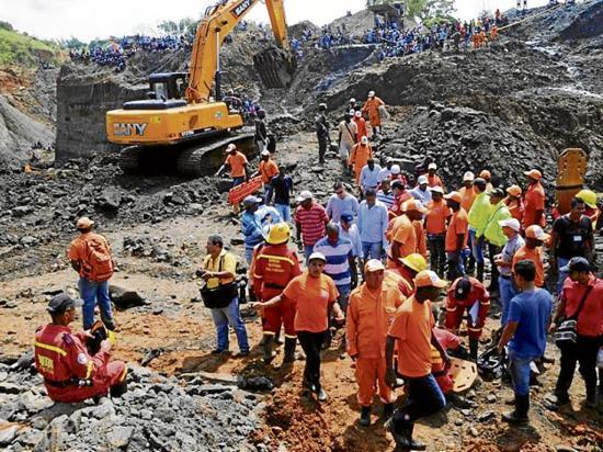 15 mineros mueren en dos sucesos distintos