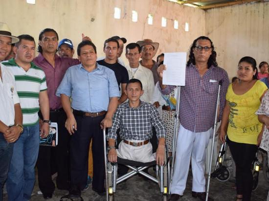 Personas con discapacidad ya tienen asociación legalizada