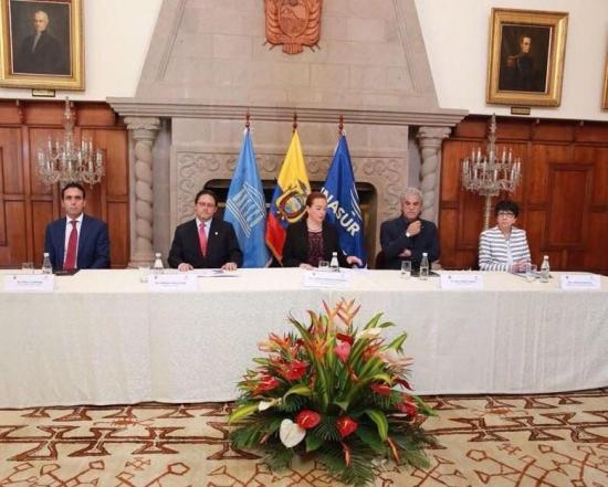Autoridades definen hoja de ruta común para promocionar a Ecuador en el mundo