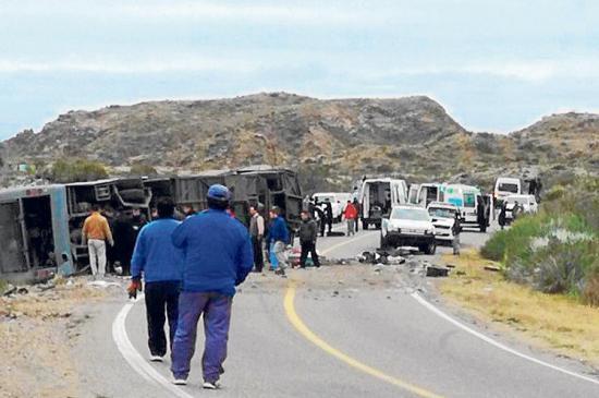Dos días de luto en Argentina por 15 fallecidos