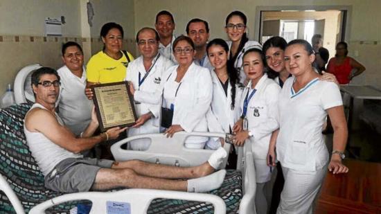 Venezolanos llegan a Ecuador en busca de salud