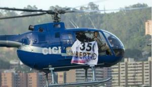 Venezuela: Policía secuestra helicóptero y lanza granadas contra TSJ