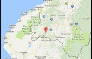 Sismo de 4,6 grados en la escala de Ritchter se registró en Loja