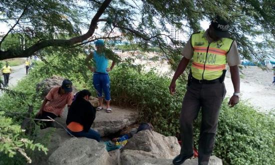 Un hombre es hallado muerto en el sector La Poza de Manta