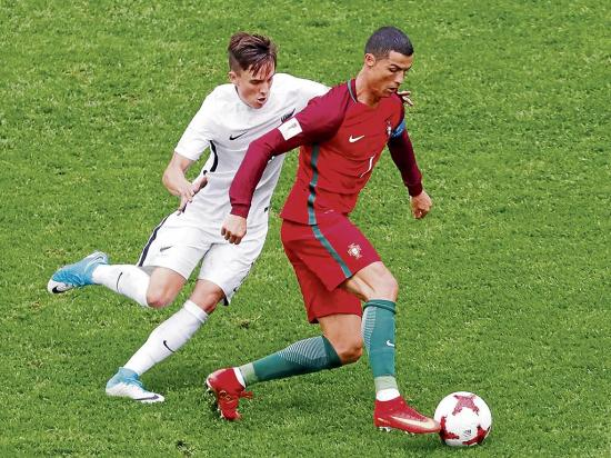 Chile y Portugal van por el boleto final