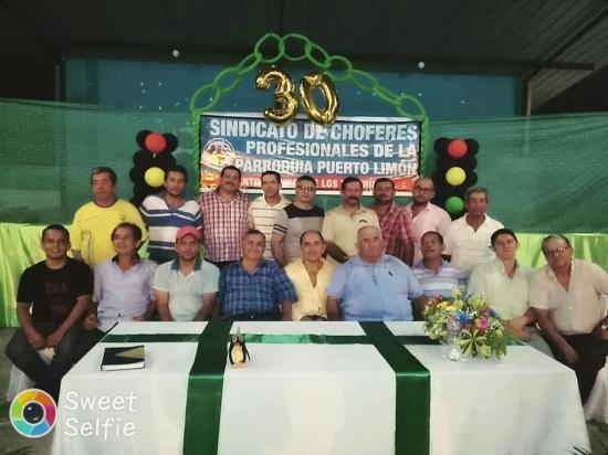 Sindicato de Choferes celebró 30 años