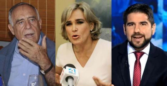 3 excandidatos se reunirán con el presidente Moreno