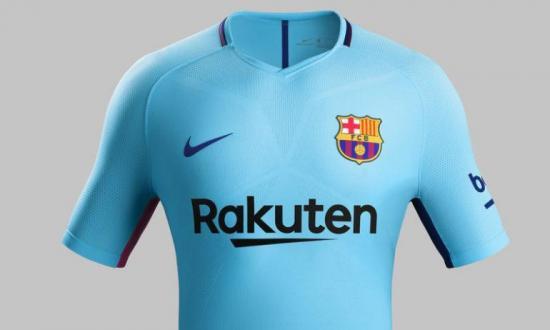 Un azul vivo y polarizado, color principal de la segunda camiseta del Barça
