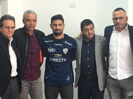 Maximiliano Barreiro firma contrato con Independiente del Valle hasta diciembre de 2018