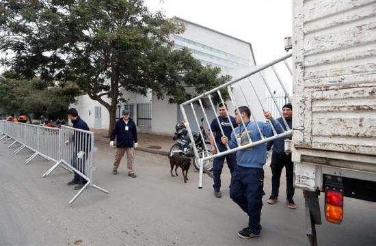 Comienza fuerte operativo de seguridad en el complejo donde se casará Messi