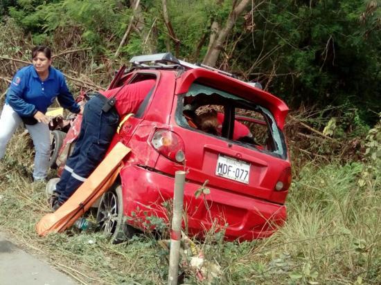 Manabí: 51 muertos en 5 meses por accidentes de tránsito