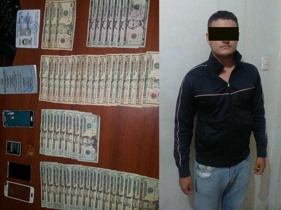 Hombre es detenido por delito de usura