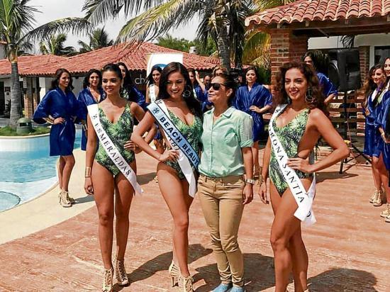 Una manabita se destaca en el Miss World Ecuador