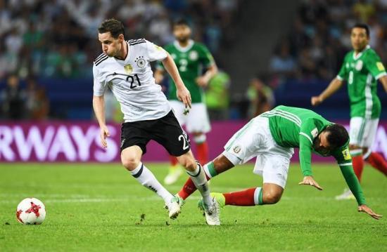 Alemania jugará la final de la Copa Confederaciones con Chile tras golear a México