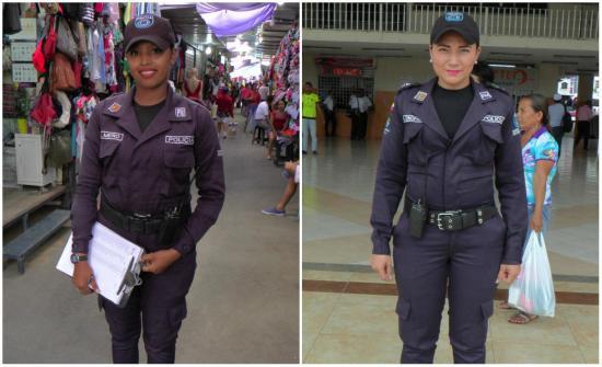 Ellas dejaron todo por ser policías municipales