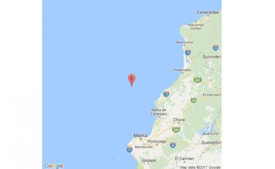 Fuerte sismo de 6,3 sacude a varios cantones de Manabí