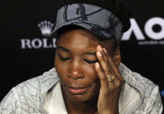 Familia de víctima de choque demanda a tenista Venus Williams por negligencia