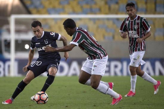 El Fluminense golea sin piedad a la Universidad Católica [4-0]