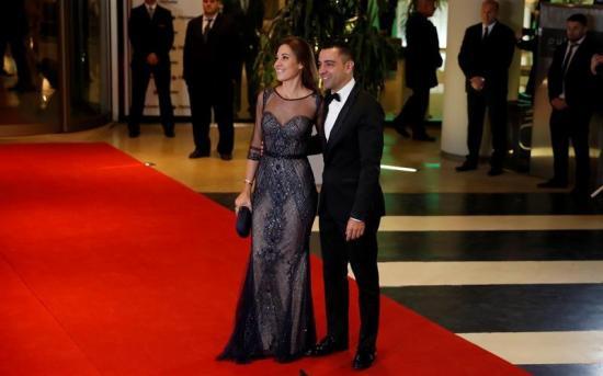 Exjugadores del Barcelona inauguraron la alfombra roja de la boda de Messi