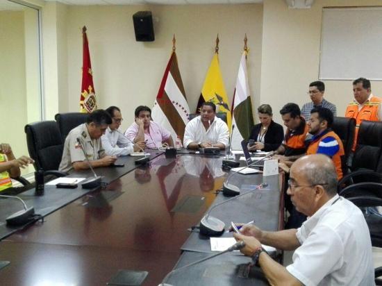 COE Provincial informó que se atendieron a trece personas en diferentes cantones tras sismo