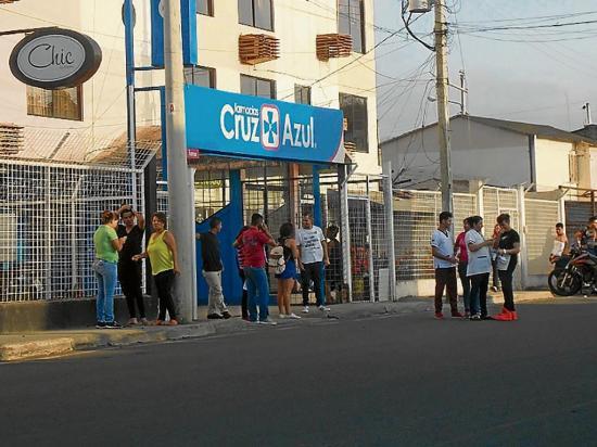Se repitió el miedo del terremoto en Manabí