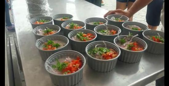 Jaramijó está de fiesta con el ceviche 'más grande del Ecuador'