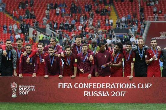 Portugal vence a México y logra el tercer lugar de Copa Confederaciones