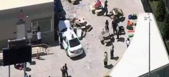 Diez heridos al impactar un taxi contra un grupo de peatones en Boston