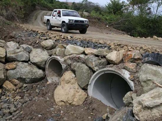 GPM trabajó en la vía San Eloy-Las Jaguas