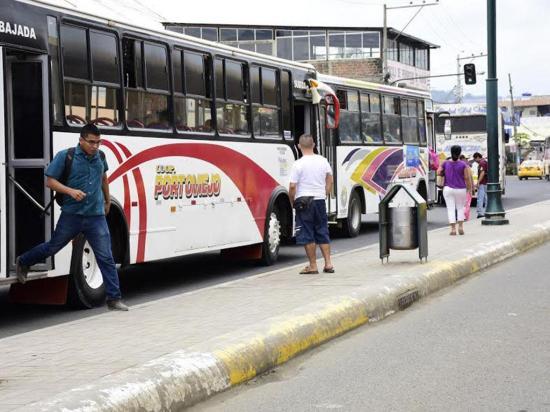 No podrá ampliarse servicio de transporte urbano hasta El Rodeo